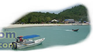 Water taxi services for Perhentian Island visitors