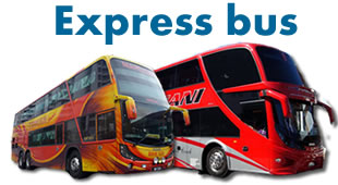Express bus transportation services