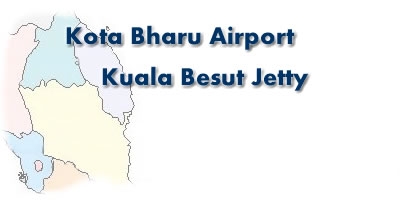 Mini van transport for Kota Bharu Airport and Kuala Besut Jetty