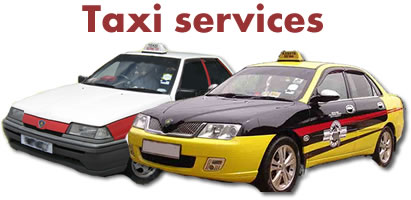 Cab and taxi transportation services